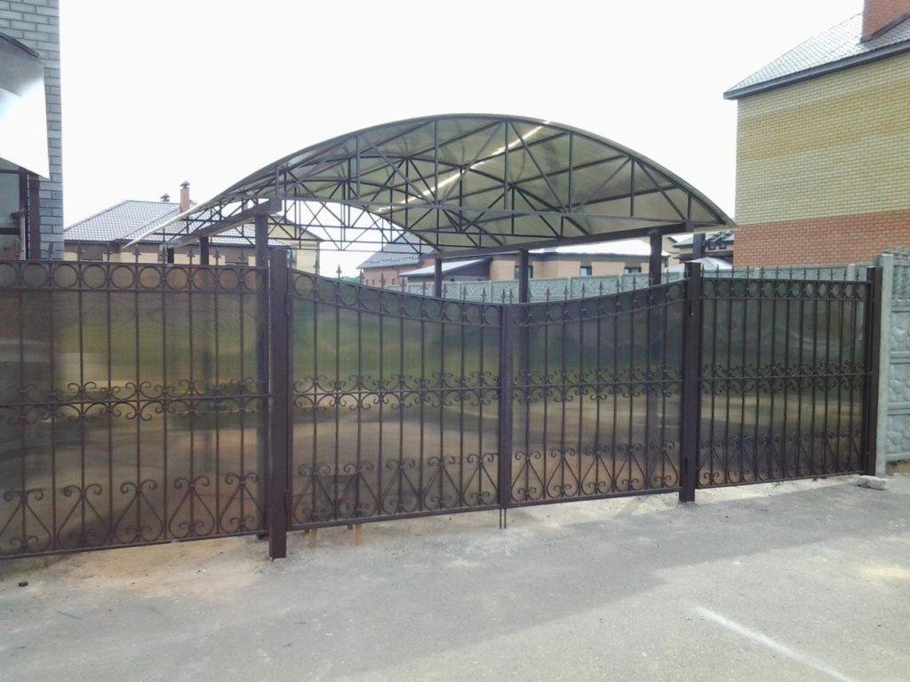 Изготовление ворот под ключ в Казани